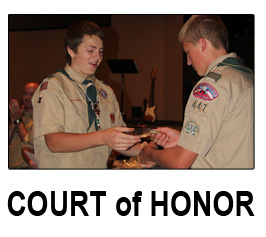 court of honor button