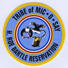Mic O Say badge